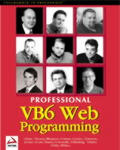 Professional Visual Basic 6 Web Programming Cover