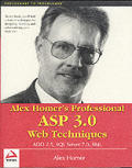 Alex Homers Professional ASP 3.0 Web Techniques