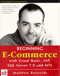 Beginning ECommerce: With VB, ASP, ADO and MTS