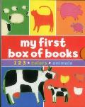 My First Box of Books: 1-2-3 * Colours * Animals