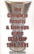 Complete Results and Line-ups of the Uefa Cup 1971-1991