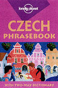 Czech Phrasebook 1ST Edition Cover