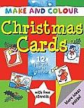 Make and Colour Christmas Cards