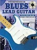 Blues Lead Guitar Technique Book & CD For Beginner to Advanced Blues Guitarists