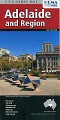Adelaide & Region City Handy Map 5th Edition