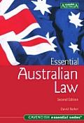 Essential Australian Law: Second Edition