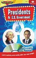 Presidents & U.S. Government (CD& Book)