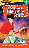 Addition & Subtraction Country (CD & Book) Cover