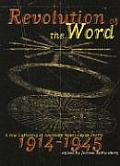 Revolution of the Word A New Gathering of American Avant Garde Poetry 1914 1945