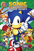 Sonic the Hedgehog Archives Volume 1 Cover