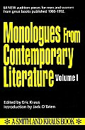Monologues From Contemporary Literature