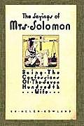 The Sayings of Mrs. Solomon