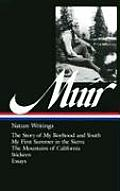 Library of America #92: Muir: Nature Writings Cover