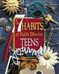 7 Habits of Highly Effective Teens Journal With 2 Pages of Stickers