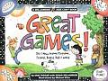 Great Games Old & New Indoor Outdoor Travel Board Ball & Word