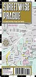 Streetwise Prague Map - Laminated Center City Street Map of Prague, Czech Republic: Folding Pocket Size Travel Map (Streetwise)