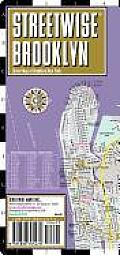 Streetwise Brooklyn Map - Laminated City Street Map of Brooklyn, New York: Folding Pocket Size Travel Map (Streetwise)