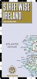 Streetwise Ireland Map - Laminated Country Road Map of Ireland: Folding Pocket Size Travel Map