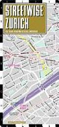 Streetwise Zurich Map - Laminated City Street Map of Zurich, Switzerland: Folding Pocket Size Travel Map