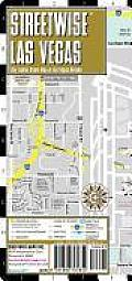 Streetwise Las Vegas Map - Laminated City Street Map of Las Vegas, Nevada: Folding Pocket Size Travel Map (Streetwise)