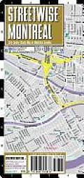 Streetwise Montreal Map - Laminated City Street Map of Montreal, Canada: Folding Pocket Size Travel Map (Streetwise)
