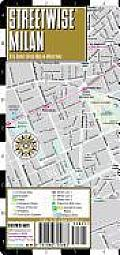 Streetwise Milan Map Laminated City Street Map of Milan Italy Folding Pocket Size Travel Map