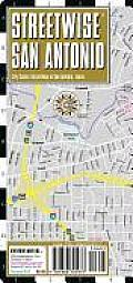 Streetwise San Antonio Map - Laminated City Street Map of San Antonio, Texas: Folding Pocket Size Travel Map (Streetwise)