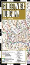 Streetwise Tuscany Map Laminated Road Map of Tuscany Italy Folding Pocket Size Travel Map