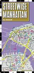Streetwise Manhattan Map Laminated City Street Map of Manhattan New York Folding Pocket Size Travel Map