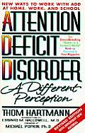 Attention Deficit Disorder: A Different Perception Cover