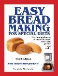 Easy Breadmaking for Special Diets, Third Edition Cover