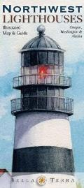Northwest Lighthouses Illustrated Map & Guide