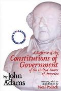 A Defense of the Constitutions of Government of the United States of America: Neal Pollack on John Adams