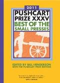 The Pushcart Prize XXXV: Best of the Small Presses (Pushcart Prize: Best of the Small Presses) Cover