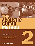 The Acoustic Guitar Method, Book 2 [With CD]