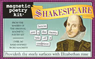 Shakespeare Kit (Magnetic Poetry)