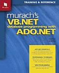 Murach's VB .Net Database Programming with ADO .Net Cover