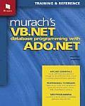 Murachs VB.NET Database Programming with ADO.NET