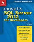 Murach's SQL Server 2012 for Developers Cover