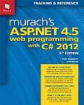 Murachs ASP.NET 4.5 Web Programming with C# 2012 5th Edition