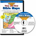 Then and Now Bible Maps PowerPoint Presentation: Compare Bible Times with Modern Day