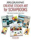 Mrs Grossmans Creative Sticker Art For