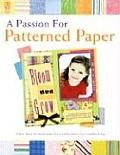 Passion for Patterned Paper