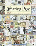 Amazing Page: 650 Scrapbook Page Ideas, Tips and Techniques (Memory Makers) Cover