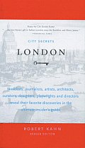 City Secrets London with 2 Ribbon Bookmarks