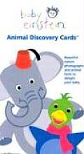 Baby Einstein: Animal Discovery Cards: Beautiful Nature Photographs and Animal Facts to Delight Your Tots Cover