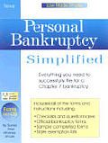 Personal Bankruptcy Simplified with CDROM