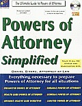 Powers of Attorney Simplified 2nd Edition Te Ultimate Guide to Powers of Attorney