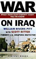 War On Iraq Scott Ritter