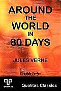 Around The World In 80 Days (Qualitas Classics) by Jules Verne
